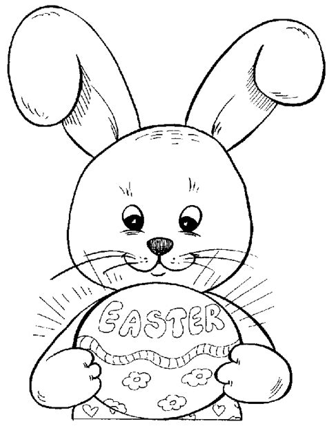 Coloring Page For Easter Bunny | easter colouring easter bunny colouring in pages