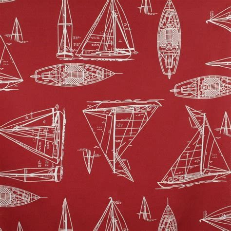 red home decor fabric home decor fabric nautical maritime red fabricville
