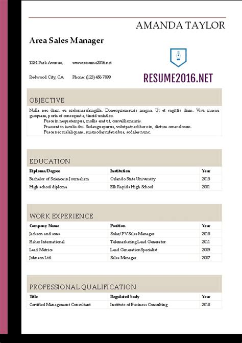 free resume templates word administrative assistant resume templates 5 tips for 2016 microsoft word resume template 2016