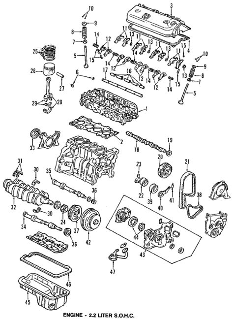 car engine manuals 1995 honda passport spare parts catalogs service manual 1995 honda passport engine timing chain diagram installation service manual