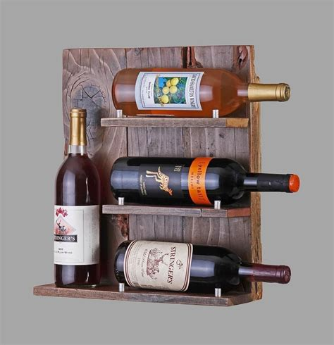 bespoke wooden wine racks buy a custom reclaimed wood wine rack made to order from