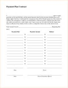 monthly payment contract template 7 payment contract template timeline template