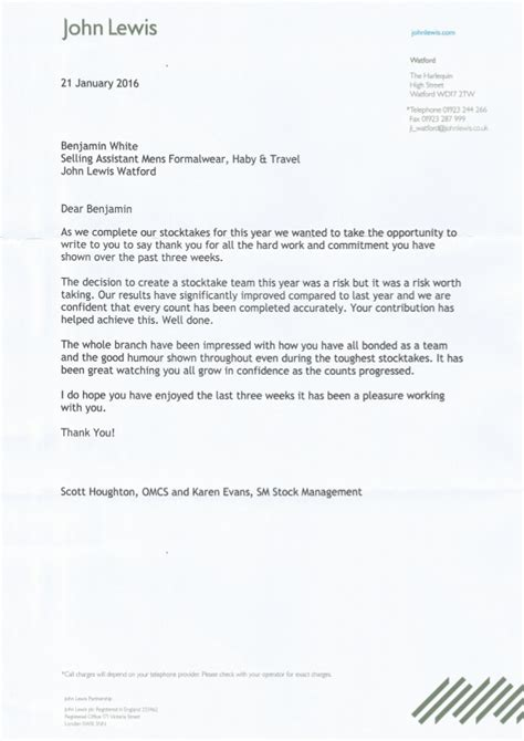 letter to my stock take letter 1482
