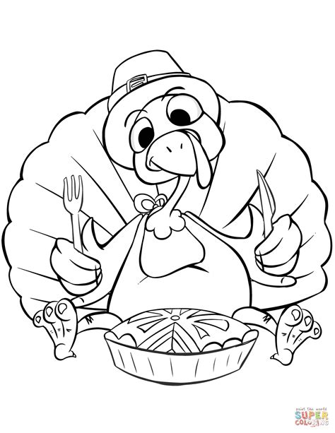 coloring page of thanksgiving dinner thanksgiving dinner coloring page free printable