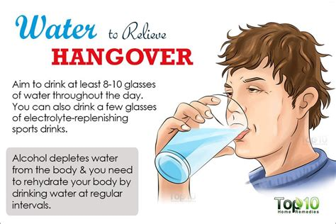 best hangover drink how to get rid of a hangover top 10 home remedies