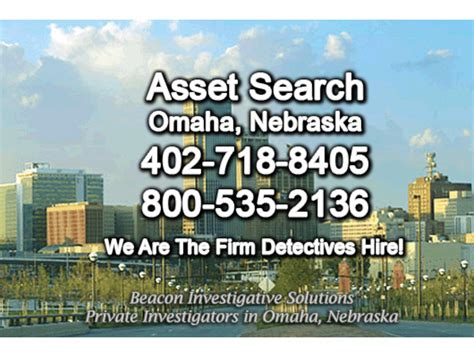Omaha Search Omaha Asset Search Beacon Investigative Solutions