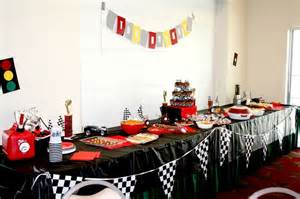 car themed baby shower decorations race car themed baby shower things i did from