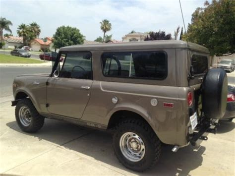 purchase   international scout jeep bronco