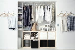 Closet Storage Ikea Plan For A Reach In Wardrobe With Personality