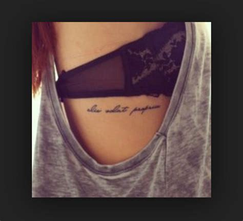 quote tattoos on ribs delicate writing me delicate