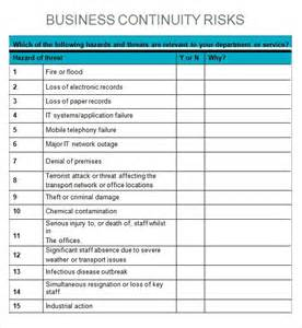 Business Impact Analysis Template » Home Design 2017