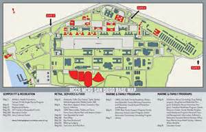 Mcrd San Diego Map by Mcrd Base Map Marine Corps Community Services Mcrd San