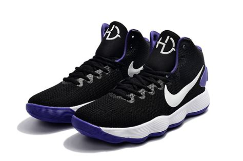 Hyperdunk High 2017 Black White nike hyperdunk 2017 ep high top s basketball shoes black purple worshipsport