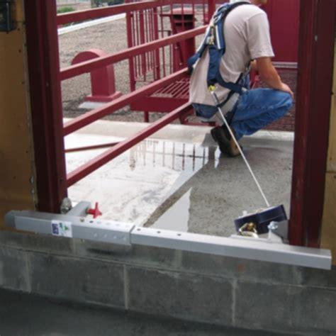 dbi sala 2100080 door window jamb anchor - Dbi Sala Window Door Jamb Anchor