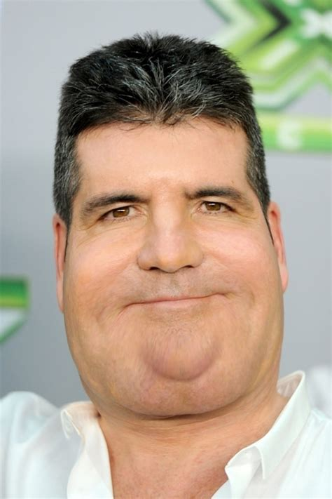 simon cowell fat face simon cowell and cheryl cole what celebrities would
