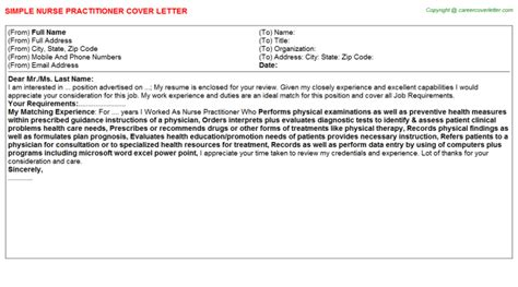 Nursing Preceptorship Cover Letter by Ideas Of Cover Letter Practitioner New