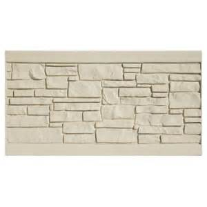 home depot privacy fence panels 3 ft x 6 ft ecostone beige composite fence panel