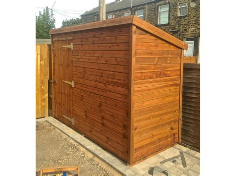 9x4 Shed 9x4 Pent A Tanalised Security Shed Easy Shed