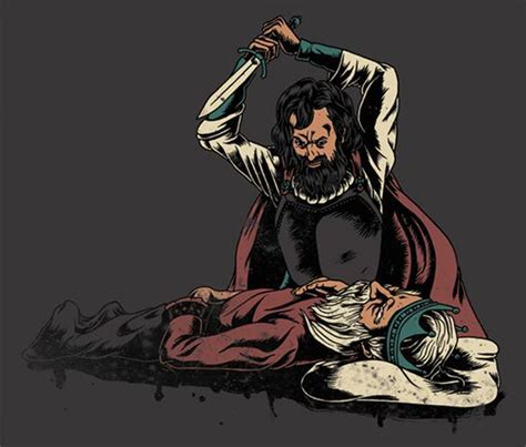 macbeth themes heaven and hell this photo shows macbeth killing king duncan with the
