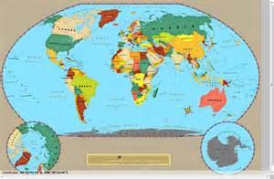 Full World Map by Aiometa Full View World Map