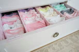 Baby clothes organization project nursery