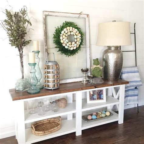 farmhouse entry table rustic farmhouse entryway table sofa table by