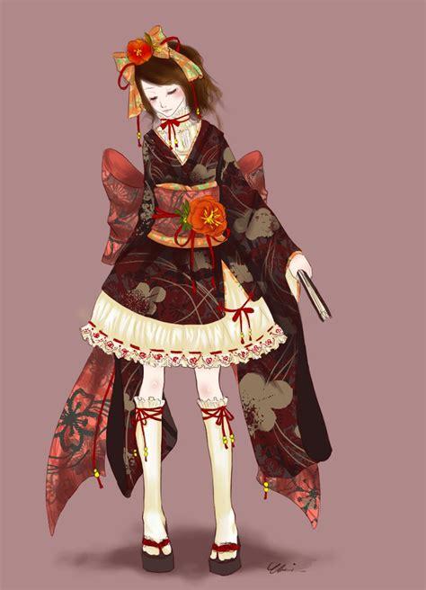 Waloli Harajuku Yukata hsamablog wa loli yutaka molde waloli yukata dress pattern