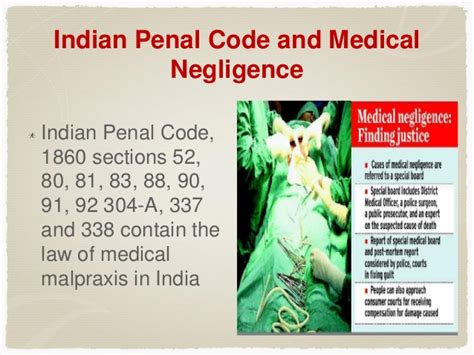 ipc section 304a medical negligence