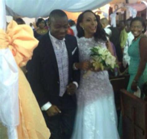 Agbani derego marriage