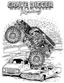 grave digger coloring pages truck grave digger truck coloring page