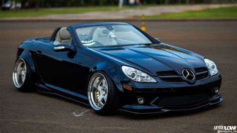 bagged mercedes amg gettinlow hadi prasetio bagged 2004 mercedes slk r171
