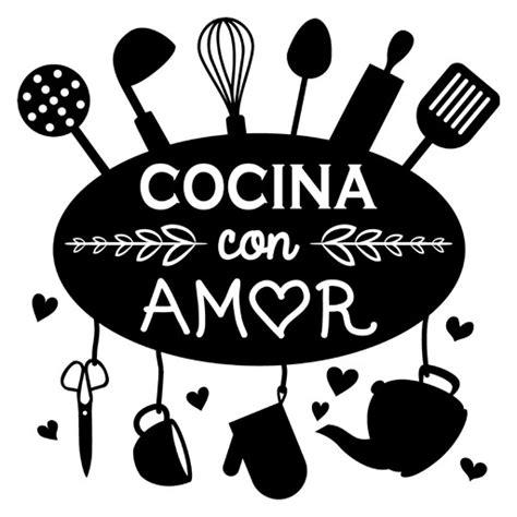 vinilo decorativo cocina  amor