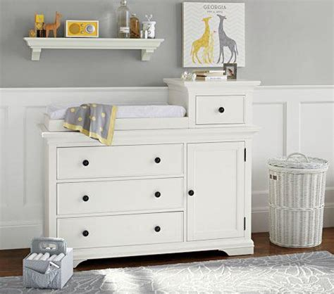 Larkin Hi Lo Changing Table Pottery Barn Kids Larkin Changing Table