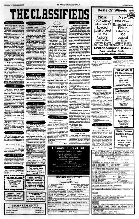 The Tulia Herald (Tulia, Tex.), Vol. 89, No. 45, Ed. 1