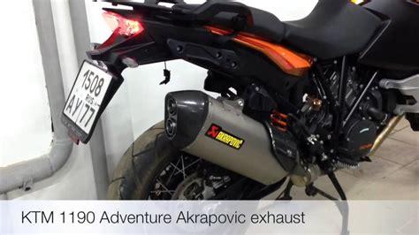 Ktm 1190 Adventure Akrapovic Ktm 1190 Adventure Exhaust