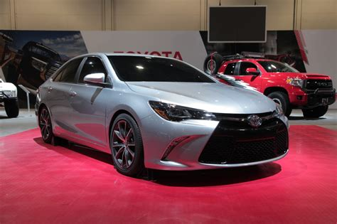 toyota stock 850 hp stock looking 2015 toyota camry sleeper at sema 2014
