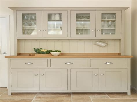 Unfinished Furniture Hutch Kitchen With Shaker Cabinets White Shaker Style Kitchen