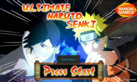 download game android mod full version download naruto shippuden ultimate naruto senki 2 mod apk