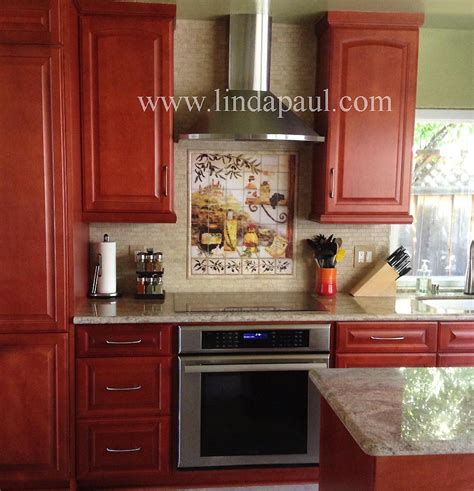 4 ideas to create a tuscan kitchen backsplash modern tuscan backsplash tile murals tuscany design kitchen tiles