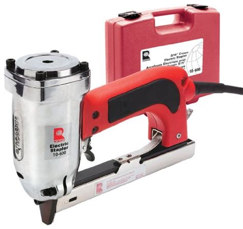 Electric Upholstery Staple Gun Reviews by Model 10 600 Pro Electric Stapler Review Staple