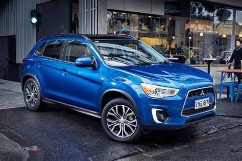 mitsubishi asx 2015 styling tweaks and digital radio for 2015 mitsubishi asx