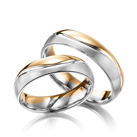 Trauringe Rosegold by Trauringe Ros 233 Gold 585 Wei 223 Gold 585 Q 1389 4 Trauringe