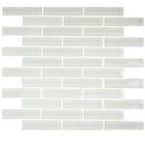 brick tile home depot splashback tile contempo bright white big brick 12 in x