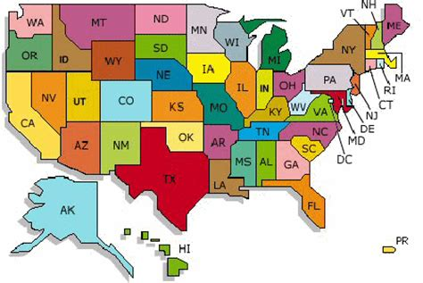 usa map states initials the 10 steps needed for putting degrees into