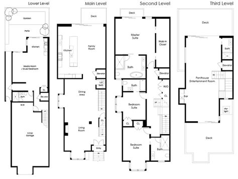 San Francisco Floor Plans Socketsite A High Tech Home Hidden Behind A Classic Fa 231 Ade