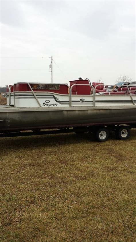 used pontoon boats kansas playcraft pontoon boat kansas 67335 cherryvale 4800