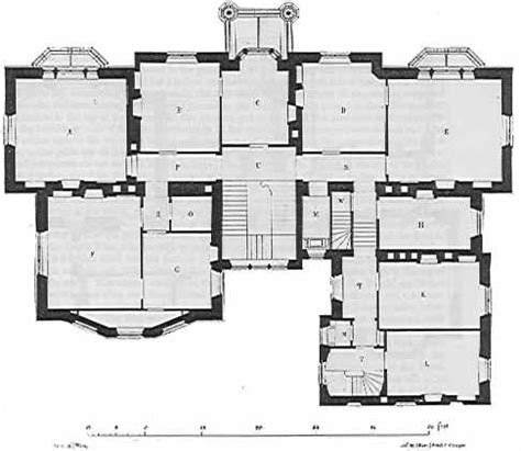 gothic architecture floor plan gothic villa house rear of house from the 1800s