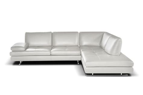 modern chaise sectional luna modern sectional right facing chaise giuseppe giuseppe