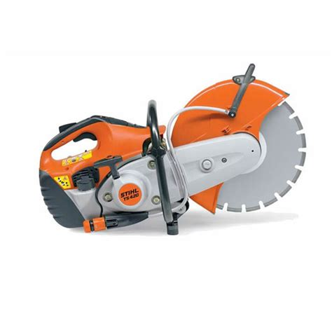 gas powered masonry table saw gas powered saw stihl ts 410 420 boulders landscape supply
