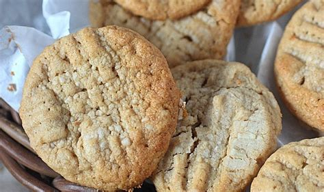 crumbly peanut butter cookies mind over batter